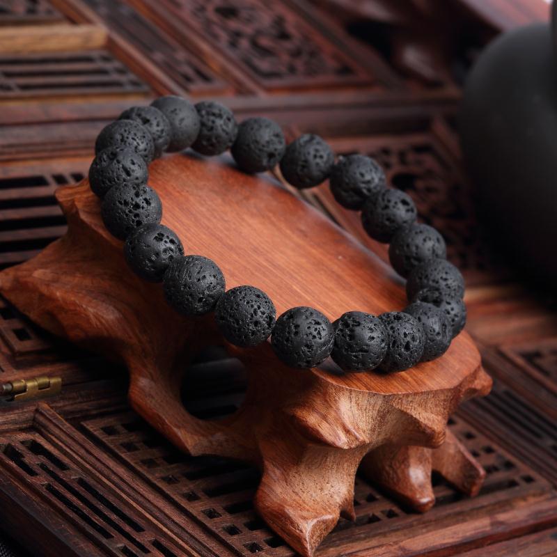Meajoe трендовый натуральный камень любовь фиолетовый браслет из бисера Винтаж Шарм круглая цепь бисер браслеты ювелирные изделия для женщин друг подарок - Окраска металла: model 1