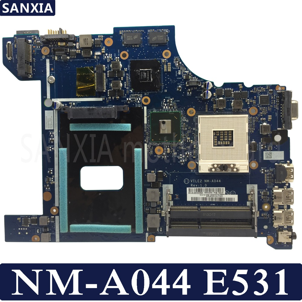 KEFU NM-A044 материнская плата для ноутбука Lenovo ThinkPad Edge E531 оригинальная материнская плата GT740M