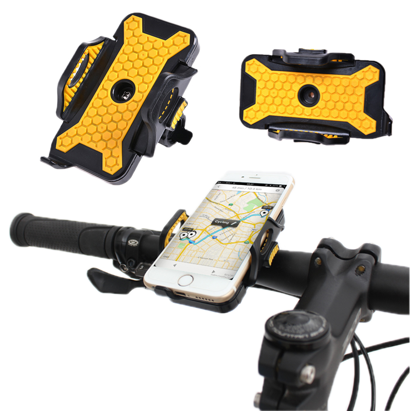 Suport pentru telefon bicicletă Motocicletă Soporte Movil Bicicleta 54mm-84mm Dispozitive pe bicicletă Universal Antiskid Tiske Bike Holder telefon