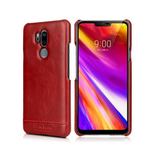Pierre Cardin Hot Sale Brand Ultrathin Genuine Leather Back Cover For LG G7 ThinQ Luxury Free Shipping