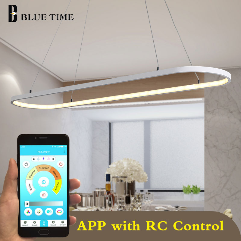 Top Sale Modern Home Fixture LED Chandeliers For Bedroom Dining Room Living Room White&Black Frame LED Chandeliers AC 110V 220V|Chandeliers|   - AliExpress