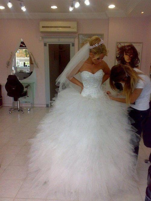Online Buy Wholesale puffy sparkly wedding dresses from China ...