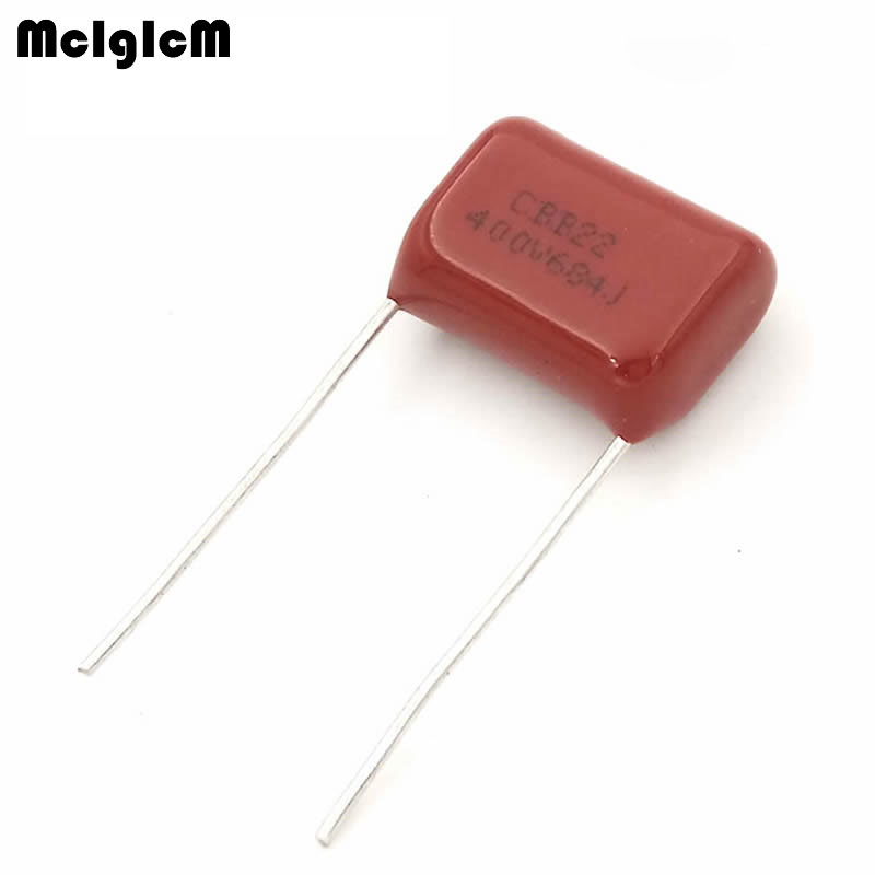 MCIGICM 1000 pcs 680nF 684 400V CBB Polypropylene film capacitor pitch 15mm 684 680nF 400V