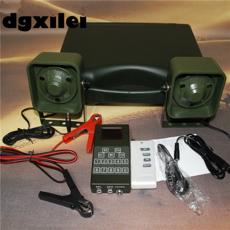 Xilei Outdoor With Remote Control Decoy For Hunting Duck Bird Amplifier 998D Duck Decoy For Sale With 210 Bird Sounds image