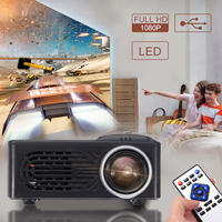 1080P HD Mini Portable Projector For TV LED Home Theater