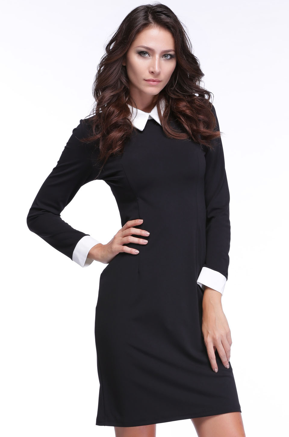 shirt dress navy Picture - More Detailed Picture about 2015 white ...