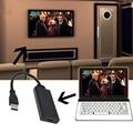 Высокоскоростной HD 1080 P USB 3.0 к HDMI Мужчин и Женщин Video Кабель-Адаптер Конвертер Для Портативных ПК HDMI кабель