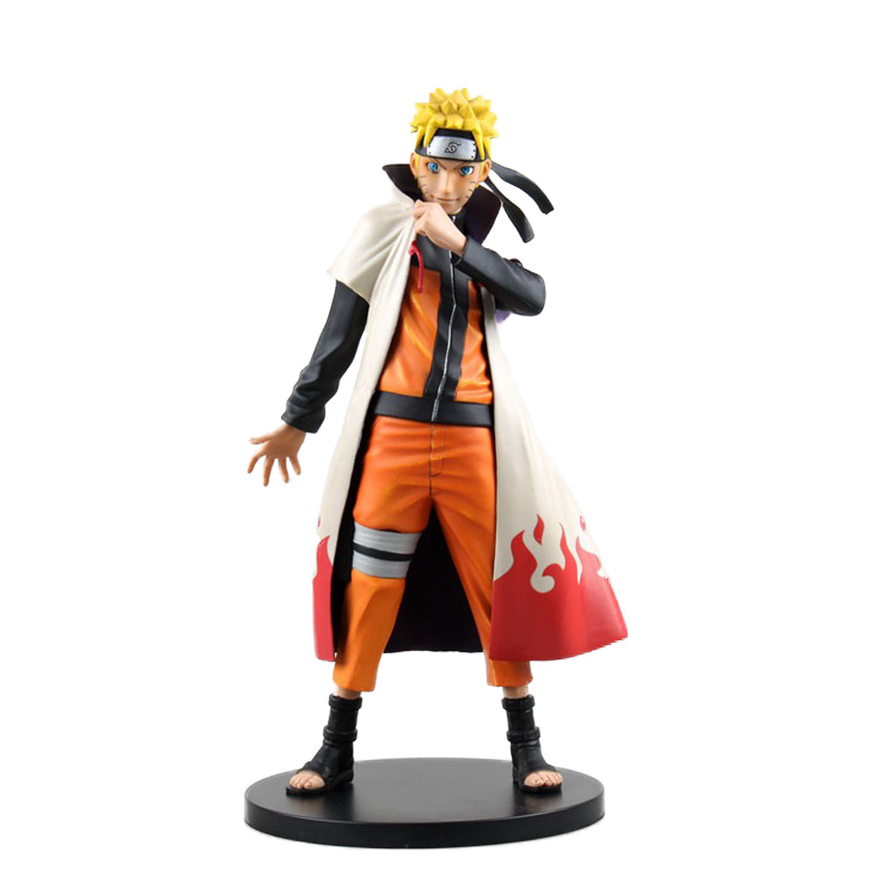 Chanycore 25CM Anime Naruto Uzumaki Naruto PVC Action Figure Collection Model Toy 1/6 Scale figure doll gift ACGN Brinquedos anime naruto brinquedos action