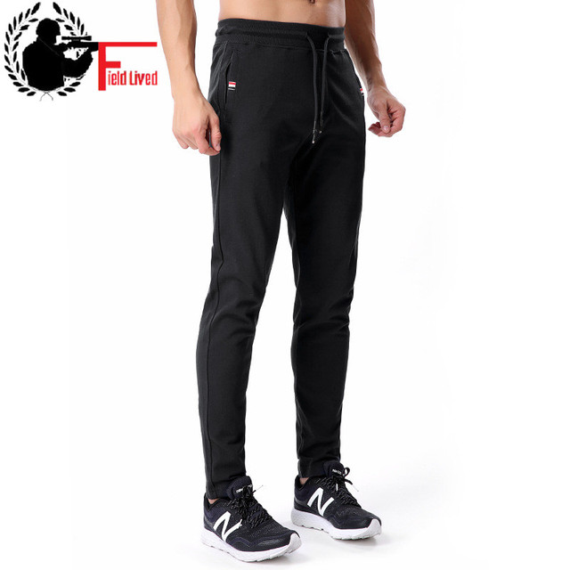 a19a200e026c Sweatpants Men Cotton Joggers Skinny Slim Fit Velvet Zipper Pocket Sweat  Pants Fleece Male Fashion Winter Warm Trousers 3xl 4xl