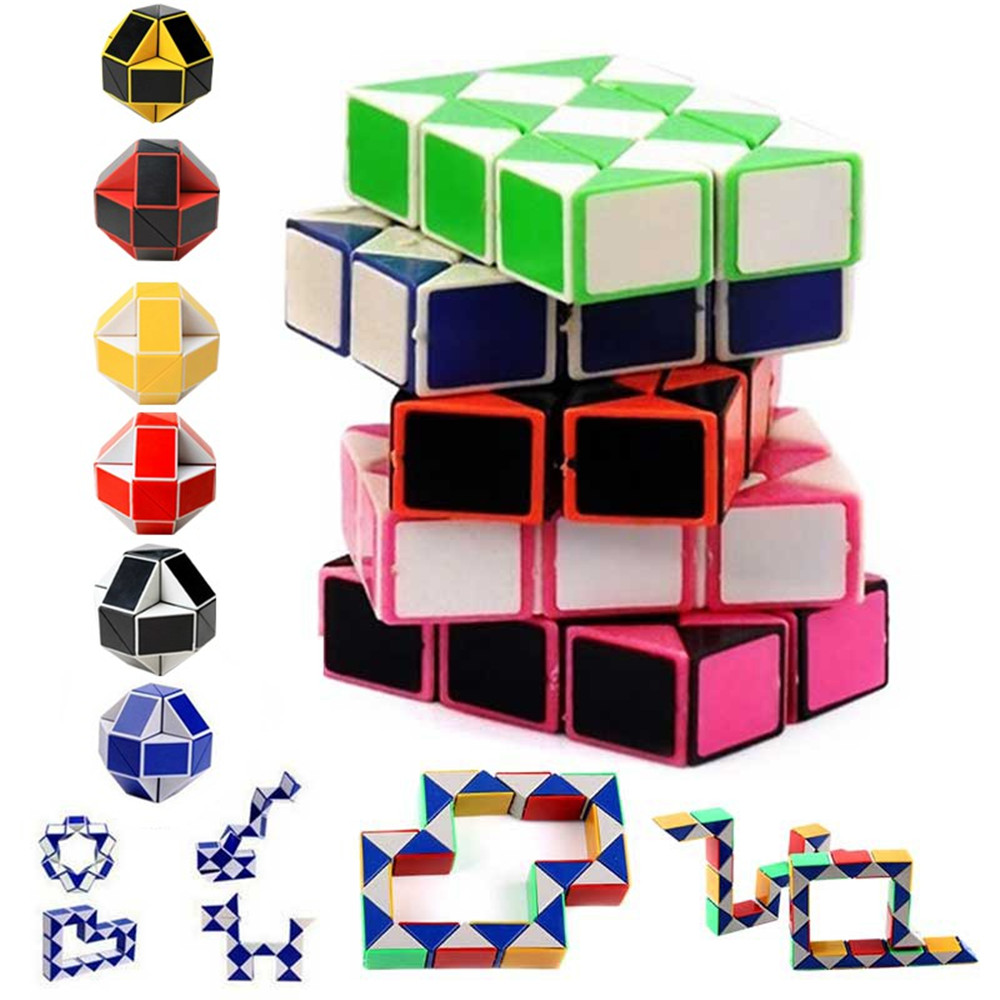 Magic Cubes,Puzzles Puzzle Cube Adult Children?S Educational Toys Games Plastic Creativity Imagination Fun Baby Kids Rotate Toy