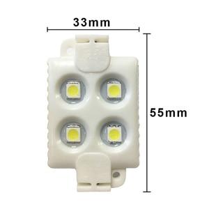 Image 4 - 20pcs/lot LED Module SMD 5050 4 LED DC12V Waterproof Advertisement Design LED Modules Super Bright Warm White Letter Lighting