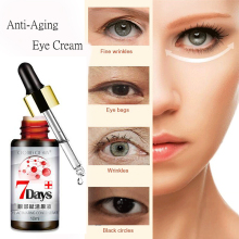 лучшая цена LILIA Wrinkle Repair Eye Cream Anti-Aging Anti-Puffiness Fine Lines Remove Dark Circles Skin Care Eyes Creams Beauty