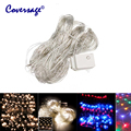 Coversage 2x3M 4x6M Xmas Led Guirlande Fairy Strings Curtain Outdoor Holiday Christmas Decorative Wedding String Luces Navidad