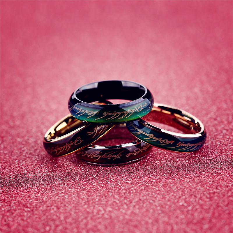 lord of the rings mood ring wedding ring men in rings from With mood wedding rings