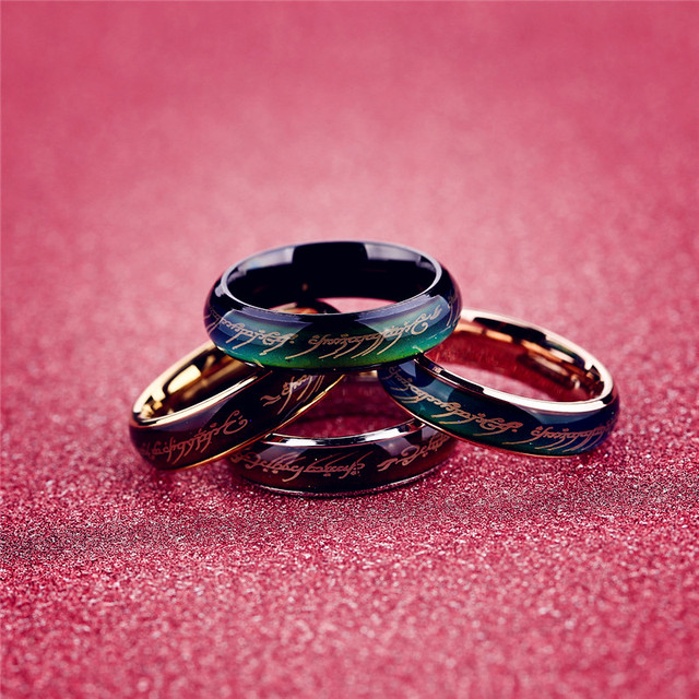 Mood Ring Wedding Men Temperature Change Color Rings For Women