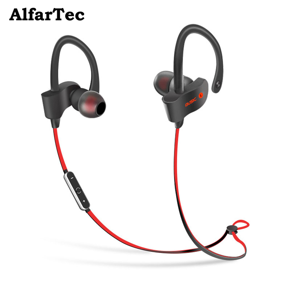 S2 Wireless Bluetooth Hedphone Sports Bluetooth Headset Music Stereo Earbuds Earphones with Mic In-ear for Xiaomi Iphone6 Phone