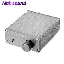 مضخم صوت رقمي مصغر من Nobsound HiFi TPA3116 ستيريو 2.0 مكبر صوت منزلي بقوة 50 واط + 50 واط
