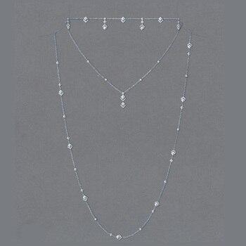 jankelly 925sterling新しいクリアホワイトストーンキュービックジルコニアマイクロ舗装設定x形状ウェディングチョーカー用女性送料無料ميسكاخلخال