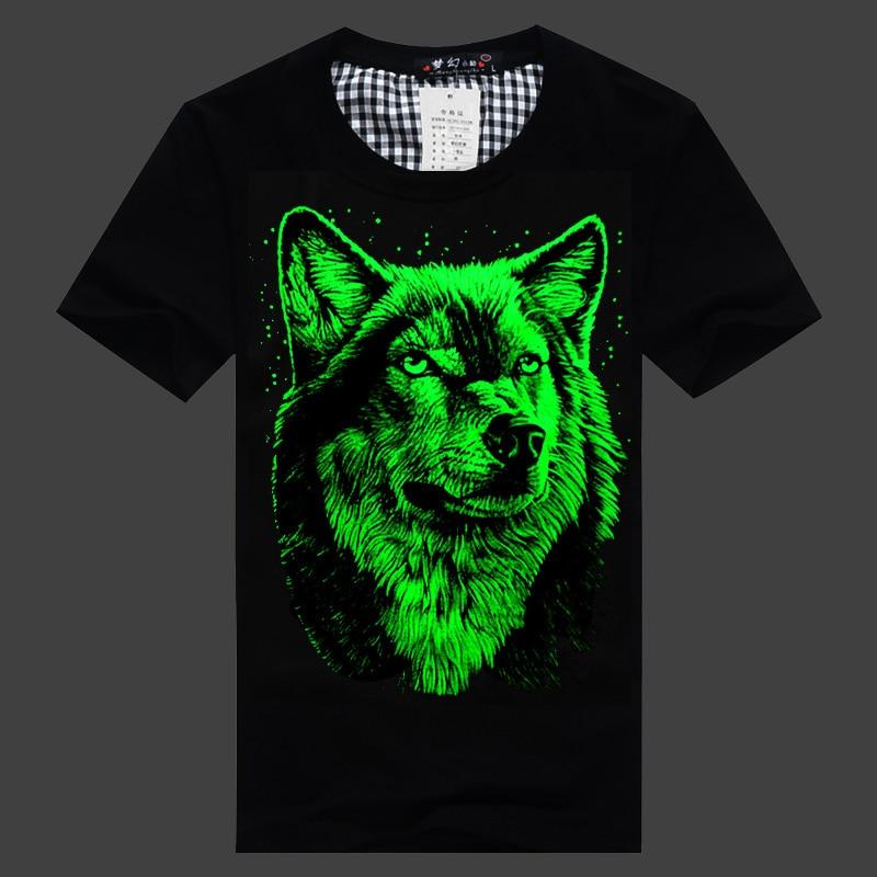 Luminous T Shirt Neon Men 39 S Short Sleeve T Shirt Clothing