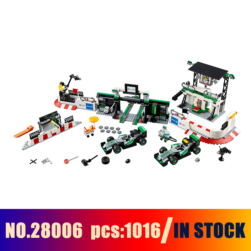 Models Building Toy MERCEDES AMG PETRONAS FORMULA ONE TEAM 28006 Building Blocks Compatible Lego Speed 75883 Toys & Hobbies compatible with lego technic 75883 lepin 28006 1016pcs amg petronas formula one team building blocks bricks toys for children