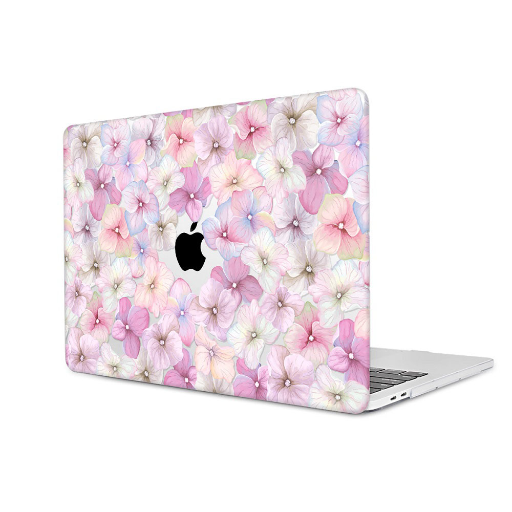 Floral Printing Hard Case for MacBook 109
