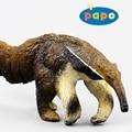 Atacado impressão clássico do Papo de bens antigos enfeites de simulação de modelo de brinquedo das crianças animais tamanduá