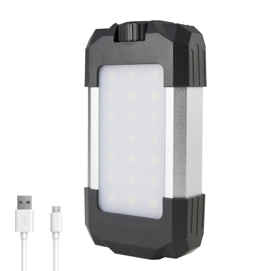 15W USB Rechargeable LED Camping Lantern 6000mAh Power Bank Portable Lanterns Waterproof Emergency Lamp Outdoor Camping Light15W USB Rechargeable LED Camping Lantern 6000mAh Power Bank Portable Lanterns Waterproof Emergency Lamp Outdoor Camping Light