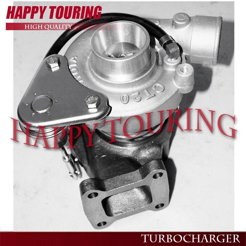 CT20 Turbo Turbocharger For TOYOTA HIACE 1995-98 HILUX 1997-98 LANDCRUISER 90-96 Surf 4-Runner 2.4L 2L-T 2LT 90HP 17201-54060