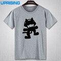 Cartoon Cool Tattoo Monstercat T Shirts Cotton O Neck Short Sleeve Mens Shirt Cheap Man t shirt Tees Free Shipping