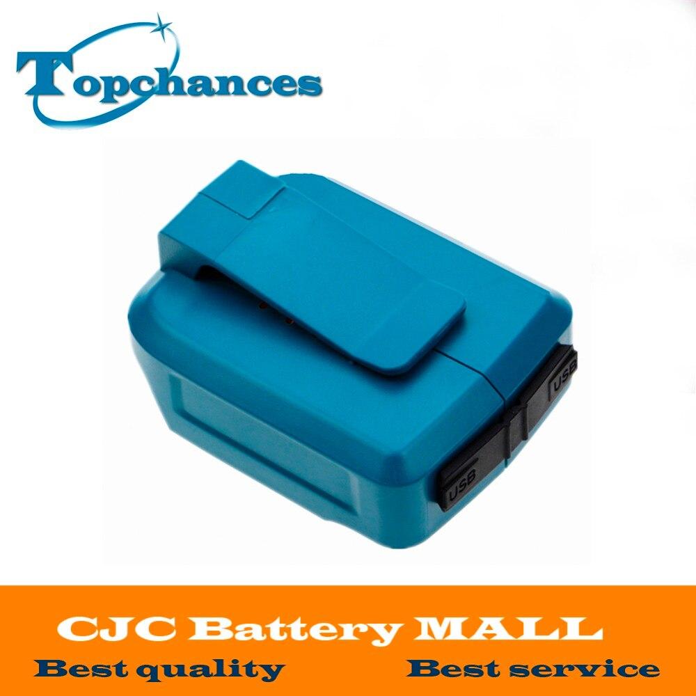 2017 Makita Battery 2 USB Ports Charger Adapter for Makita 18V 14 4V BL1415 BL1845 BL1815