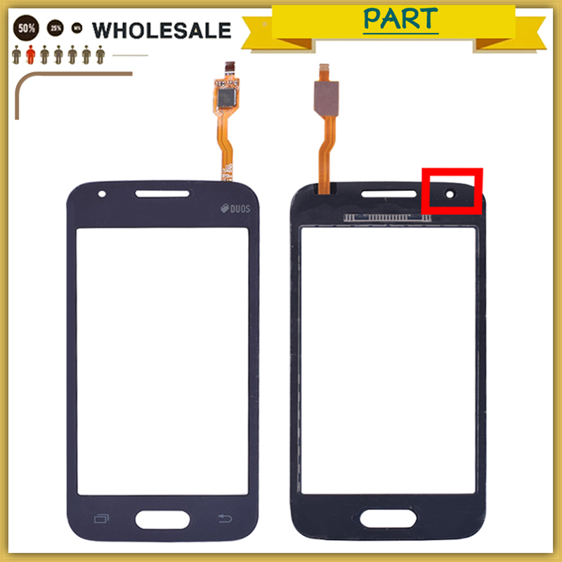 10pcs Touchscreen For Samsung Galaxy Duos Ace 4 G313 G313f G316h G316f Touch Screen Panel Digitizer Sensor Front Glass Lens