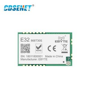 Image 3 - SX1278 868MHz 1W SMD אלחוטי משדר CDSENET E32 868T30S 868 mhz SMD חותמת חור SX1276 ארוך טווח משדר מקלט