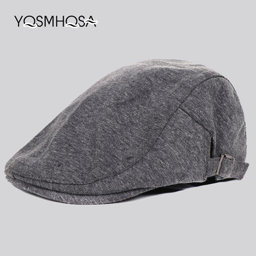2fcdf64d645 Detail Feedback Questions about Vintage Beret Caps Men Cotton Sun Visor Caps  Beret Hat Male Bonnet Headwear Women Casual Cap Ajustable WH648 on ...