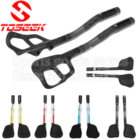 1 Pair TOSEEK Cycling Mountain MTB Bicycle Road Bike Full Carbon Fiber 12K Rest Handlebar Triathlon