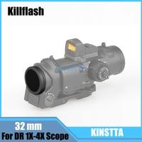 KINSTTA K Illflash/ฆ่าแฟลช32มิลลิเมตรสำหรับJJปืนDR 1X-4Xขอบเขตสีดำ
