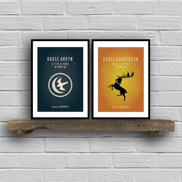 """""""Game of Thrones"""" Wall Art Canvas  2"""