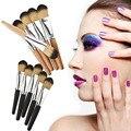 5 pcs Make Up Brush Set Sombra Em Pó Mineral Blush Brush Facial Concealer Maquiagem Cosméticos Escova Sobrancelha FE #8