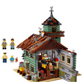 16050 Old Finishing Store Compatible with lego 21310 2109 Pcs Bricks Creative Series Model Building Blocks Toys For Children