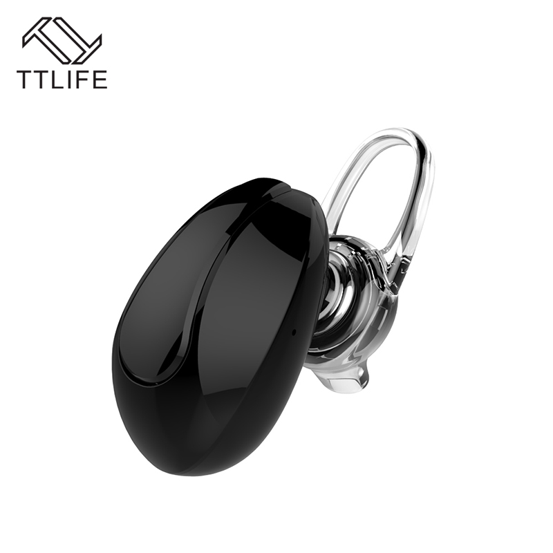 TTLIFE New Mini Bluetooth Earphone Wireless Sport Headphones Noise Cancelling Handsfree Universal with Mic for iPhone Samsung high quality 2016 universal wireless bluetooth headset handsfree earphone for iphone samsung jun22