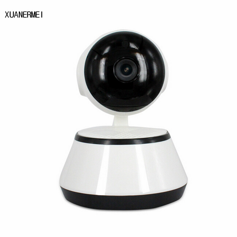XUANERMEI Home Security IP Camera Baby Monitor Wireless WiFi Camera Surveillance 720P Night Vision CCTV