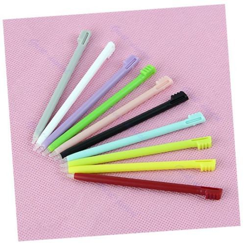 10pcs New Screen Stylus Pen For Nintendo DS NDS LITE DSL metal retractable replacement stylus for nds lite 4 pack