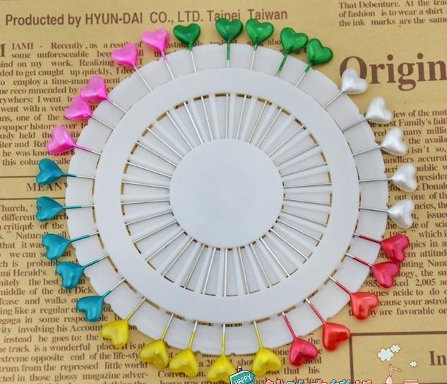 Craft Pin Wheel 30 Pins en forma de corazón pernos y alfileres de ...