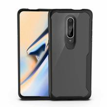 Mobile Phone Case For OnePlus 7 7 Pro Transparent Acrylic TPU Silicone Soft Cover For One Plus 7 7 Pro Cases Accessories