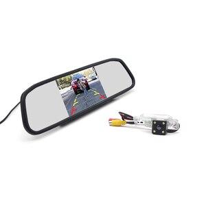 """4.3"""" Car Mirror Monitor + 4LEDs Car Rear View Camera for BMW E46 E39 BMW X3 X5 X6 E60 E61 E62 E90 E91 E92 E53 E70 E71(China)"""
