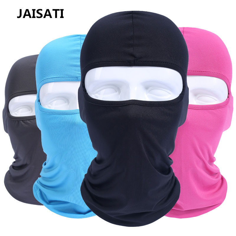 JAISATI Cycling Hoods CS Tactical  Breathable Sun Protection mask Windshield Motorcycle Hood Riding Masks 2017 hot cycling motorcycle cap skull mask ride skeleton stretch hat balaclava hood cosplay costume full face masks