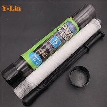 Рыболовная ПВА сетка труба 25 мм 37 мм X 5 м ПВА мешок резиновая ручка Baiting Boilie загрузки волос аксессуар веревка