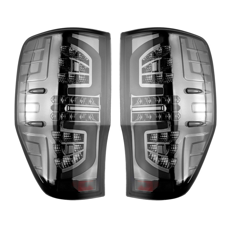 2012 2013 2014 2015 2016 2017 2018 rear LIGHTS DRL led rear lamp for ford ranger t6 t7 xlt RANGER tail lights brake lights in Signal Lamp from Automobiles Motorcycles
