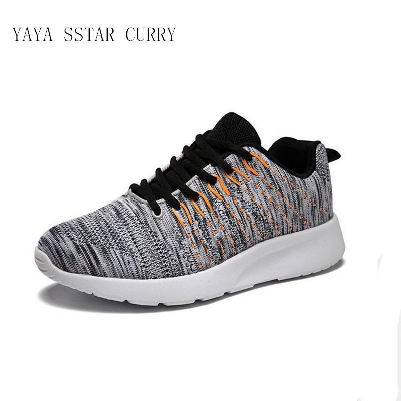 YAYA STAR CURRY 2018 new mens running shoes hot outdoor 3D fly line technology 350 boy shoe