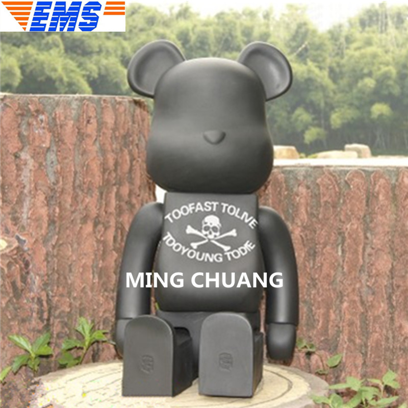 Bearbrick Gloomy Kaws 1000% Be@rbrick BRIAN Original Fake Valentines Gift Vinyl Action Figure Collectible Model Toy 70CM BOX Z39 цена