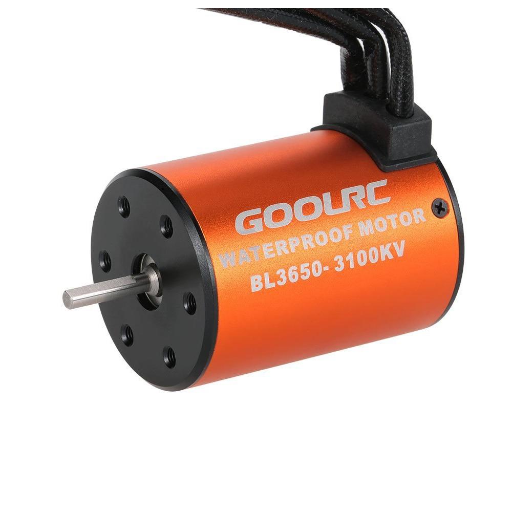 Neue 3650 3100KV Wasserdichte Brushless Motor für 1/10 RC Auto HSP 94123 HuanQi 727 FS Racing 53625/53632